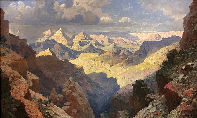 Grand Canyon by William R. Leigh